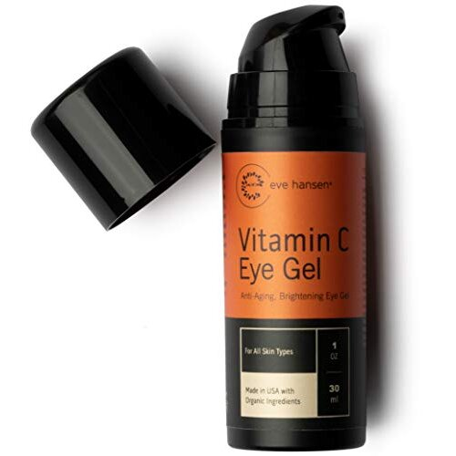 Eve Hansen Vitamin C Eye Gel - Reduce Age Spots, Dark Circles and Eye Puffiness With Our Vitamin C Eye Cream | Anti-Aging Wrinkle Filler, Eye Bags Tre