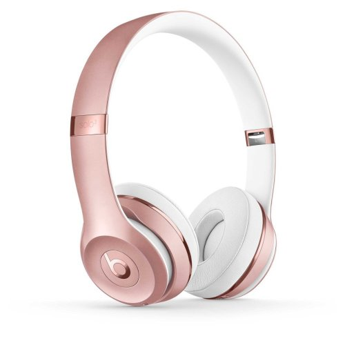 Beats By Dr. Dre Solo 3 Wireless Headphones | Rose Gold Beats Headphones