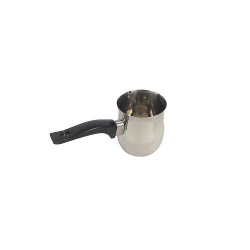 (450ml) Coffee Warmer Pot Plastic Handle (Stainless Steel)