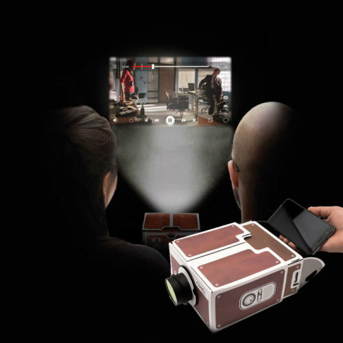 V2.0 Smartphone Projector Practical For Mobile Phone Home Theater