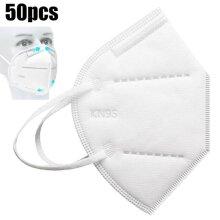50-Pack KN95 Face Mask Protective Masks Virus Surgical N95 Mask