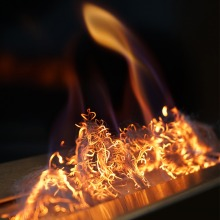 GLOW FLAME ember fibre Kratki