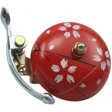 bicycle bell Suzu Haru 5 x 5,5 cm steel red