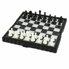 Magnetic Folding Chess Board Game Set High Quality Chess Size 28x28cm