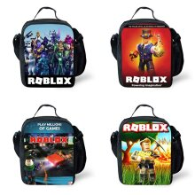 Roblox Thermal Insulated Cooler Lunch Bags School