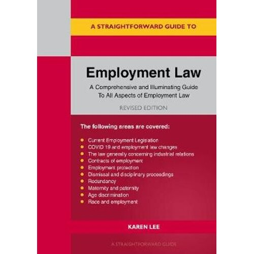A Straightforward Guide To Employment Law | Paperback