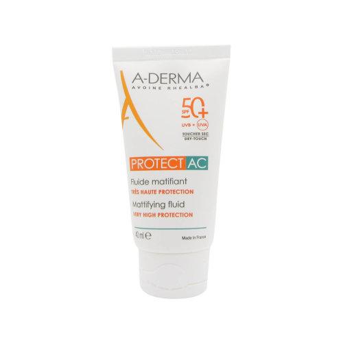 A-Derma Protect AC Mattifying Fluid SPF50+ 40ml