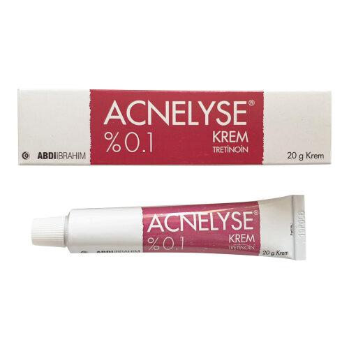Acnelyse Cream Tretinoin 0.1% Treats Acne Fine Wrinkles Dark Spots