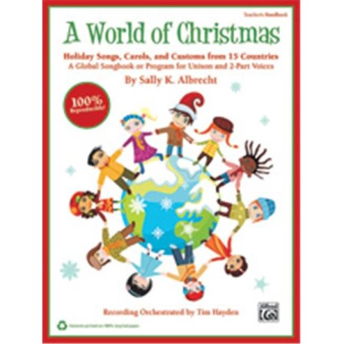 Alfred 00-39963 WORLD OF CHRISTMAS-STRX CD