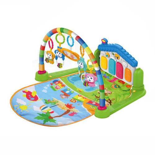 Ezi-Tech 4-in-1 Musical Baby Playmat | Colourful Baby Play Gym