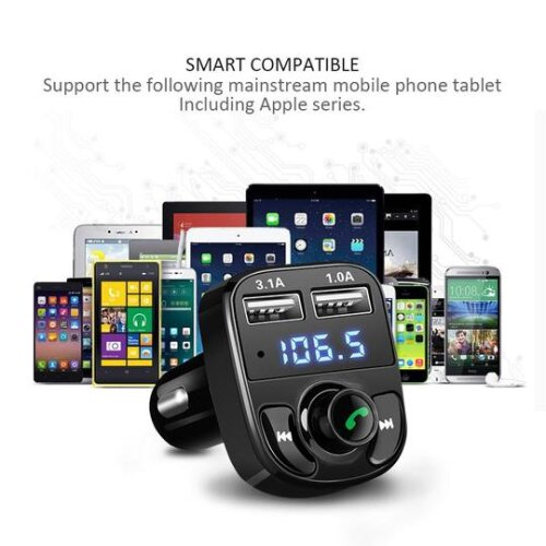 ANLUD Bluetooth Handsfree Car Kit FM Transmitter
