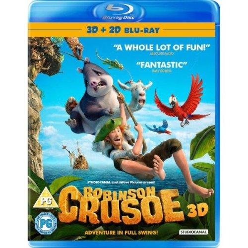 Robinson Crusoe 3D+2D Blu-Ray [2016]