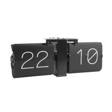 Flip Clock, No Case, Black