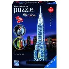 216Pc Ravensburger Night Edition Chrysler Building 3D Jigsaw Puzzle