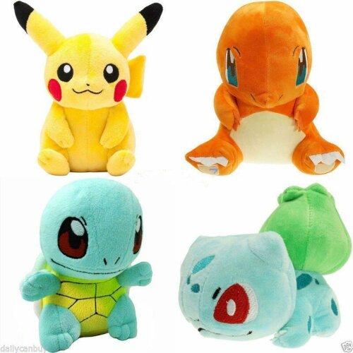 Pokemon Plush Toy | 4pcs