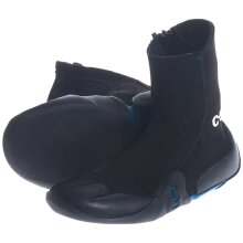 Legend 3.5mm Junior Zipped Round Toe Boot | Black