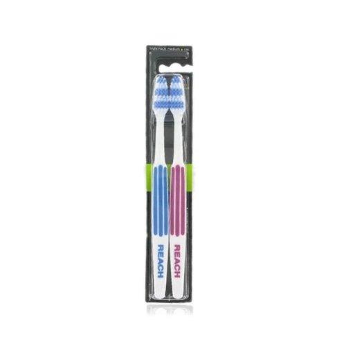 Listerine Reach Interdental Toothbrush Full Twin Pack Medium 1 pair