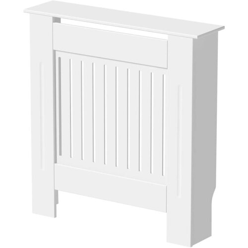 (Small Radiator Cover 78*19*81CM(Pure White)) Modern Chelsea Radiator Covers MDF Board Radiator Cabinet