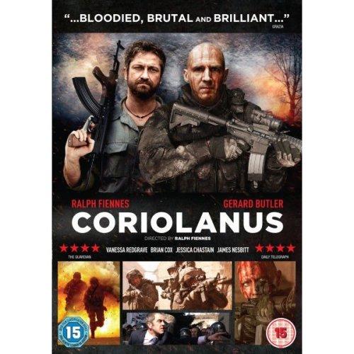 Coriolanus DVD [2012]