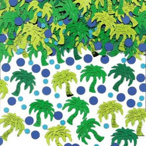Amscan Palm Tree Party Confetti