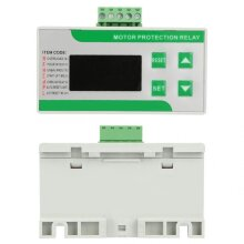 220/380V AC Digital Electric Motor Protector, 2-99A Overload Phase Loss Protector with Display