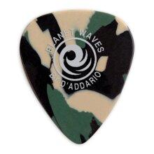 D'Addario Planet Waves Classic Celluloid Guitar Picks Camoflauge Light 0.50mm 10 Pack 1CCF2-10