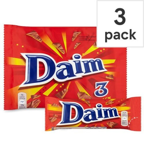 Daim Chocolate Bars 3 Pack 84g