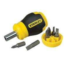 Stanley 0-66-357 Multi Bit Stubby Screwdriver