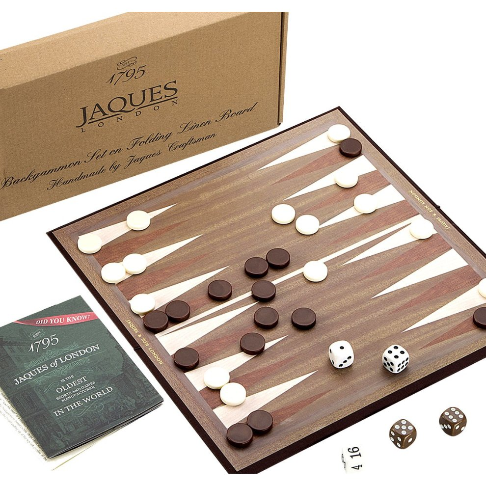 "Backgammon Board - 12"" Backgammon set"