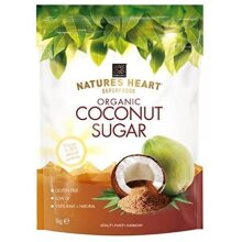 Terrafertil Organic Raw Coconut Sugar 1kg (Pack of 2)