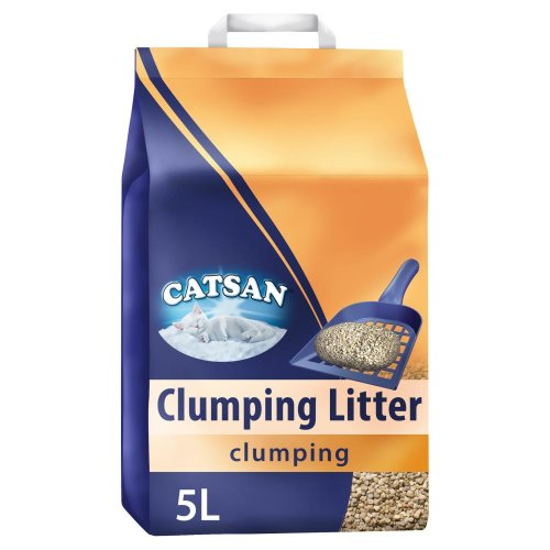 CATSAN Clumping Cat Litter 3x5L