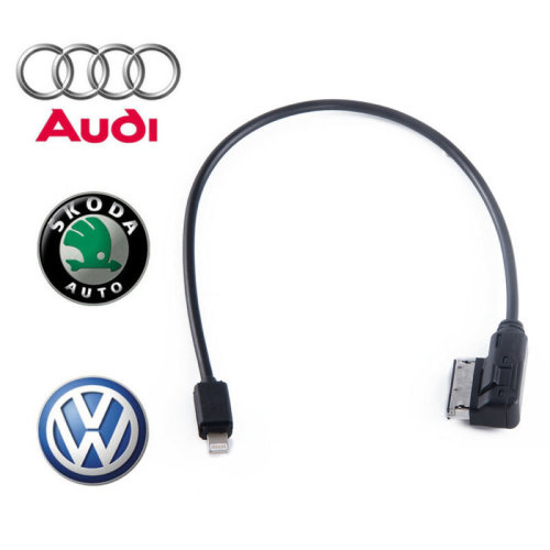 35CM Audi AMI MDI MMI Charging Cable for iPad iPhone 5 5S 6 6s 7 7s 8