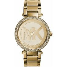 Michael Kors Parker Ladies Watch MK5784 Gold New with Tags 2 Years Warranty