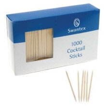 Bamboo Cocktail Sticks, pack of 1000