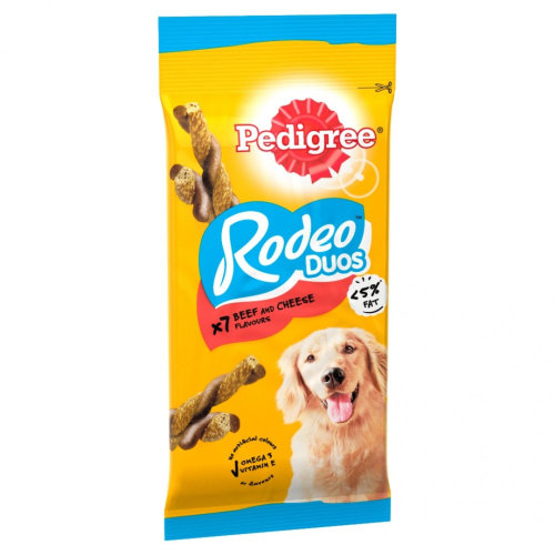 Pedigree Rodeo Duos Beef & Cheese (Pack of 10)