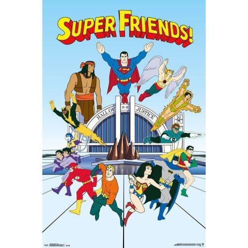 "Poster - Studio B - Superfriends - Team 23""x35"" Wall Art p4218"