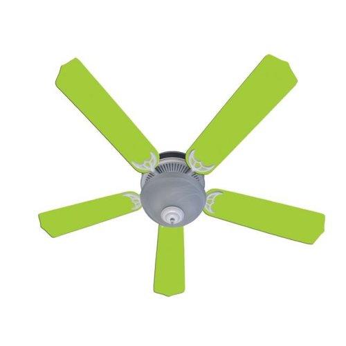 52 in. New Kids Room Decor Ceiling Fan, Lime Green