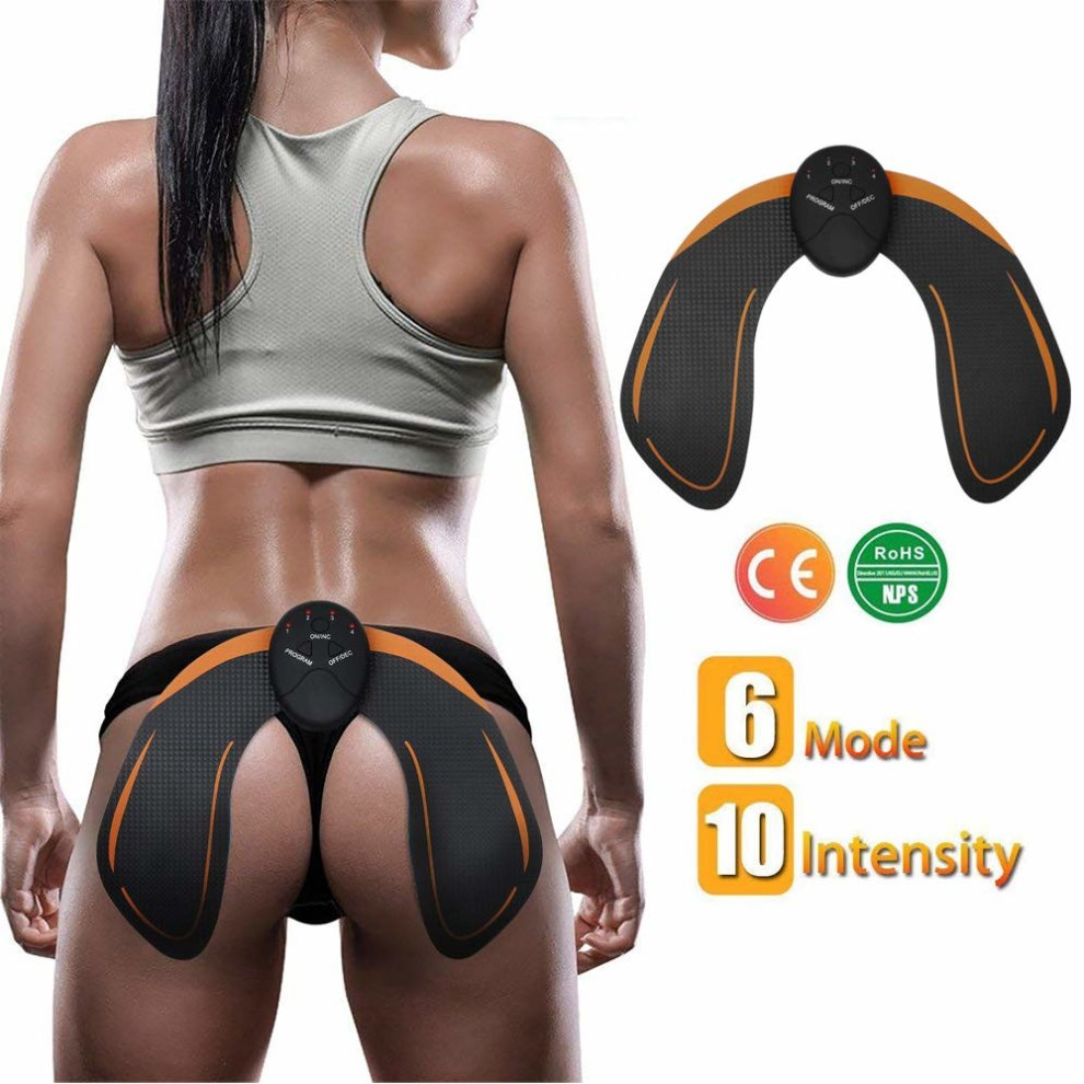 Electric Hips Trainer Muscle Stimulator Buttocks Lift Enhancer Pad SHENGMI EMS Intelligent Buttock Trainer Lifting//Shaping//Firm//Beautify The Hip Body Workout Fitness Weightloss Massager Machine