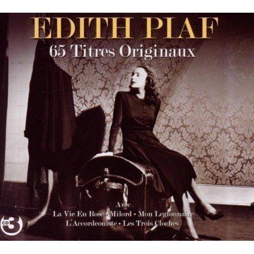 Edith Piaf - 65 Titres Originaux [CD]