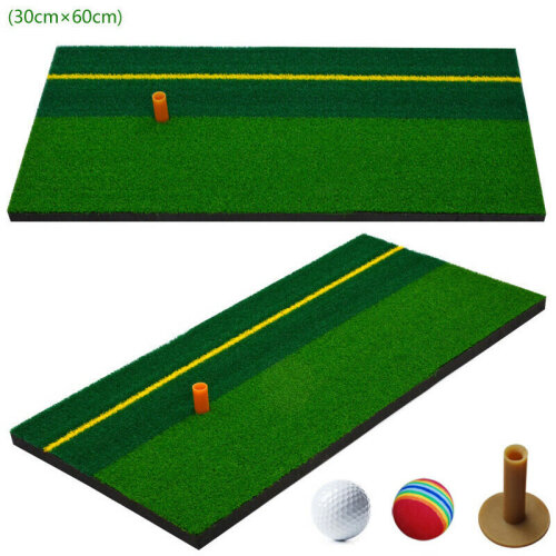 Golf Training Practice Mat Driving Pitching Chipping Home Yard Golf Mat
