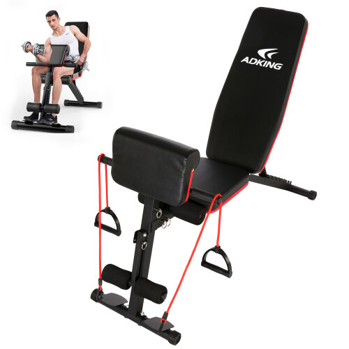 Adjustable Folding Weight Bench Training
