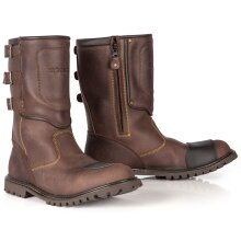 Spada Foundry Waterproof Motorcycle Boots Brown