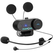 FreedConn T-COM VB Motorcycle Helmet Intercom Bluetooth Headset Interphone