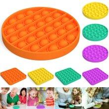 Push Pop Pop Bubble Sensory Fidget Toy Autism Special Needs Silent Classroom
