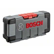 "Bosch 2607010903""Tough Box"" Jigsaw Blade-Set with Single Lug Shank, 0 V, Black/Silver, Set of 30 Piece"