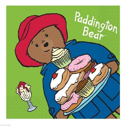 Pack of 16 Paddington The Bear Napkins