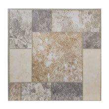 Floor Tiles Self Adhesive Vinyl Flooring Kitchen Bathroom Brown Mosaic Grey
