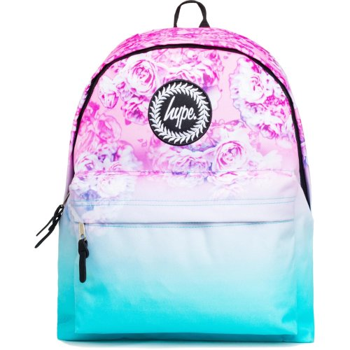 Hype Pastel Rose Fade Backpack Bag Pink/Blue