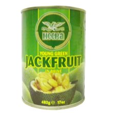Heera - Young Green Jackfruit in Brine - 482g (pack of 2)