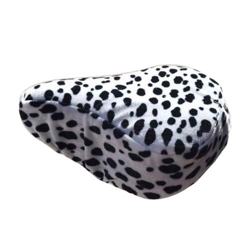 Adult Bicycle Seat Cover Velvet Seat Cover for Winter Comfortable, C